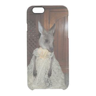 Kangaroo Joey Clear iPhone 6/6S Case