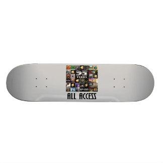 KANSAS - 35th Anniversary Custom Skate Board