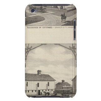 Kansas Live Stock County in Cawker City Case-Mate iPod Touch Case