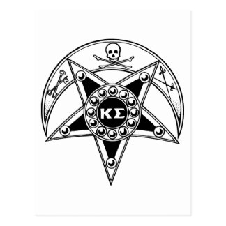 Kappa Sigma Badge Postcard