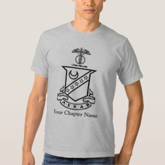 Kappa Sigma Crest - Black and White Tees