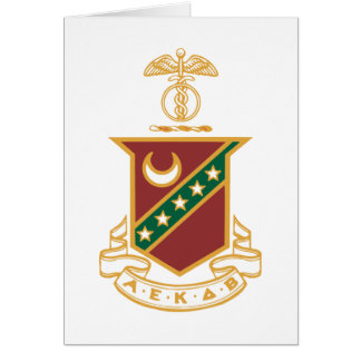 Kappa Sigma Crest Note Card