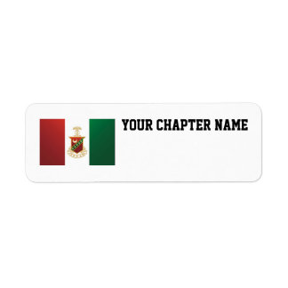 Kappa Sigma Flag Return Address Label