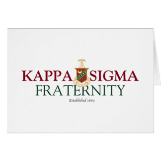Kappa Sigma Note Card