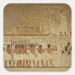 Karnak Temple- Luxor, Egypt Square Sticker