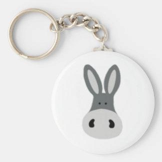 Kawaii Charlie the Donkey Key Chain