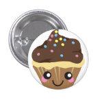 Kawaii Cupcake Button