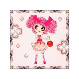 Kawaii Girl PinkyP Sweet Lolita so cute Gallery Wrap Canvas