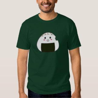 "Kawaii ""Onigiri"" Rice Ball with Bitemark Shirt"