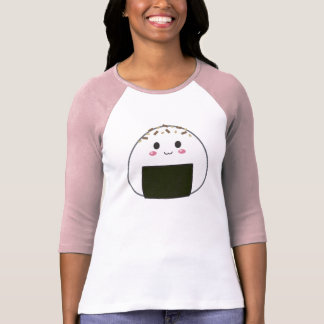 "Kawaii ""Onigiri"" Rice Ball with Toppings T-shirts"