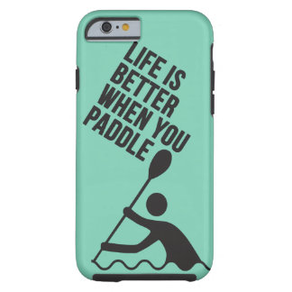 Kayak canoe paddle design tough iPhone 6 case