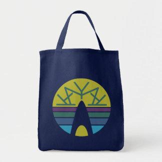 Kayak Emblem 3.0 Grocery Tote Bag