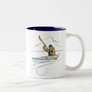 Kayak Guy Mug