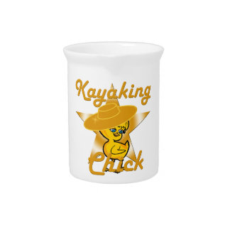 Kayaking Chick #10 Drink Pitchers