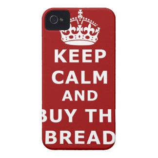 Keep calm and buy the you annoy - Purchase the bre Case-Mate iPhone 4 Cases