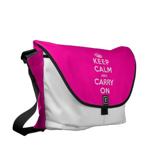 Keep Calm and Carry On Commuter Bags