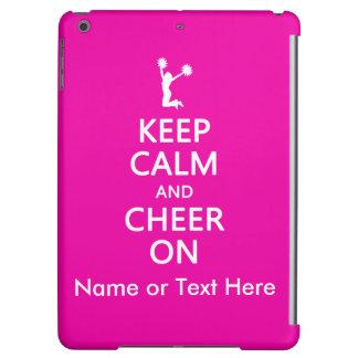 Keep Calm and Cheer On, Custom Cheerleader Pink