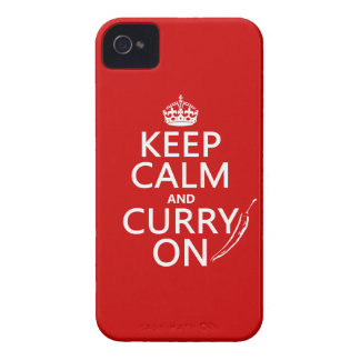 Keep Calm and Curry On (customizable) Case-Mate iPhone 4 Case