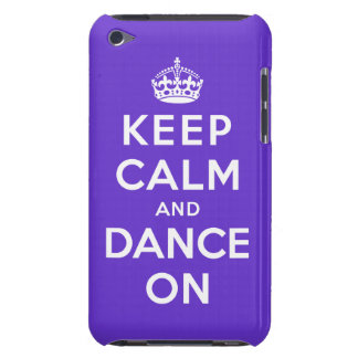 Keep Calm and Dance On Barely There iPod Covers