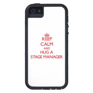 Keep Calm and Hug a Stage Manager iPhone 5 Covers