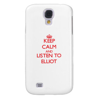 Keep Calm and Listen to Elliot Galaxy S4 Case