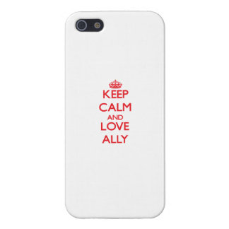 Keep Calm and Love Ally iPhone 5/5S Covers