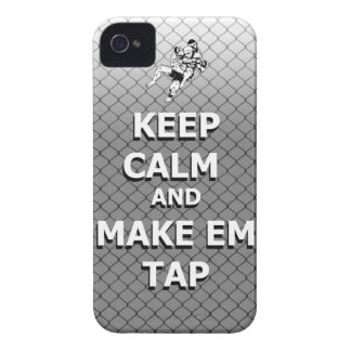 keep calm and make em tap iPhone 4 covers