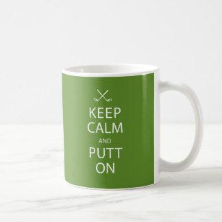 Keep Calm and Putt On - Golf Mug