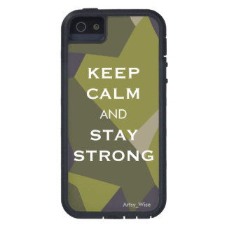Keep Calm and Stay Strong iPhone 5 Covers