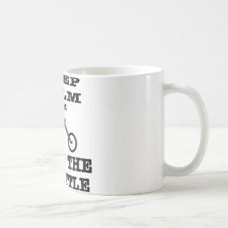 Keep Calm And Twist The Throttle Biker Basic White Mug