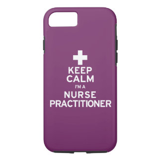 Keep Calm Nurse Practitioner iPhone 7 Case