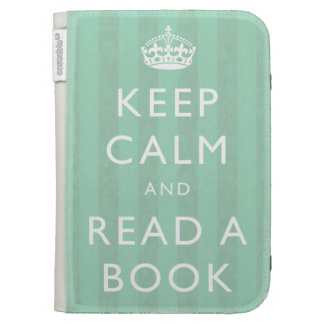 """""""Keep Calm & Read A Book"""" Personalised Kindle Case"""