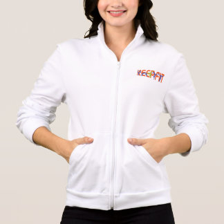 Keep Fit in color Printed Jackets