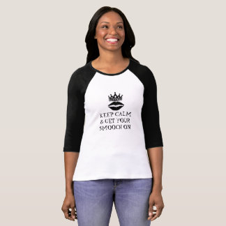 KEEP ON & GET YOUR SMOOCH ON T-SHIRT SWEET CUTE