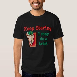 Keep Staring Tee Shirt