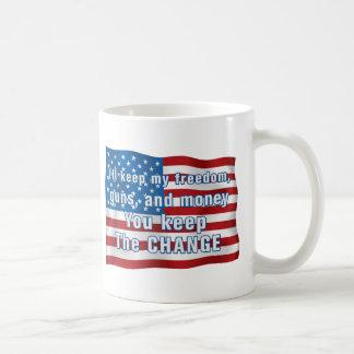Keep The Change Basic White Mug