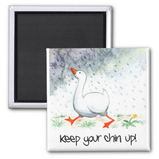 'Keep Your Chin Up!' Magnet