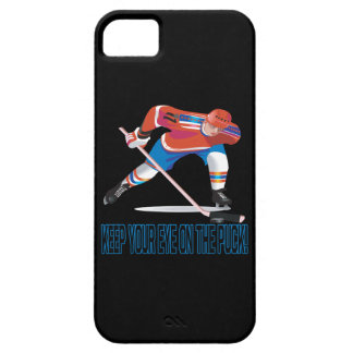 Keep Your Eye On The Puck iPhone 5 Cover