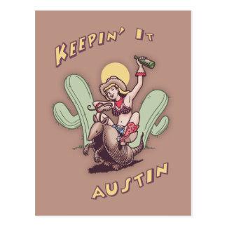Keepin' It Austin Postcard