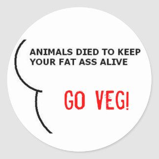 Keeping you Alive! Round Sticker