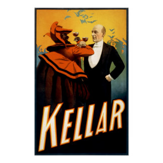 Kellar - Drinks with the Devil Poster