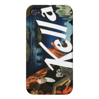 Kellar's ~ The Devil Vintage Magic Act iPhone 4 Cases