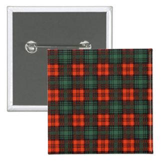 Kerr clan Plaid Scottish tartan 15 Cm Square Badge