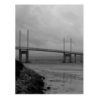 Kessock bridge in Scotland Postcard