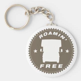 "Key Chain to ""Roamin' Free"" Class C RV Travler"