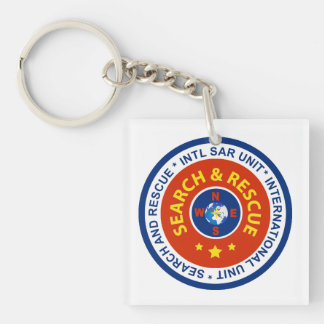 Key Chain with INTL SAR LOGO