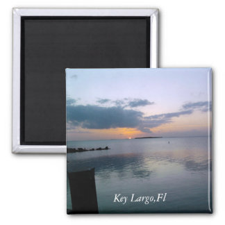 Key Largo Square Magnet