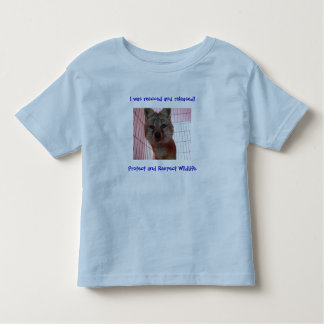 kids fox rescued shirt