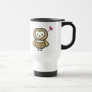Kids Owl T Shirts and Gifts Stainless Steel Travel Mug