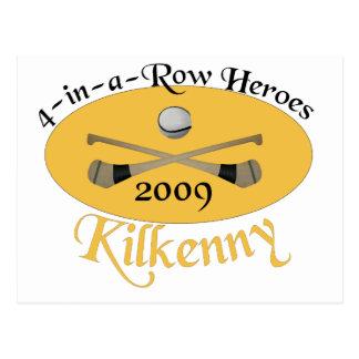 Kilkenny 4-in-a-Row Commemorative Postcard